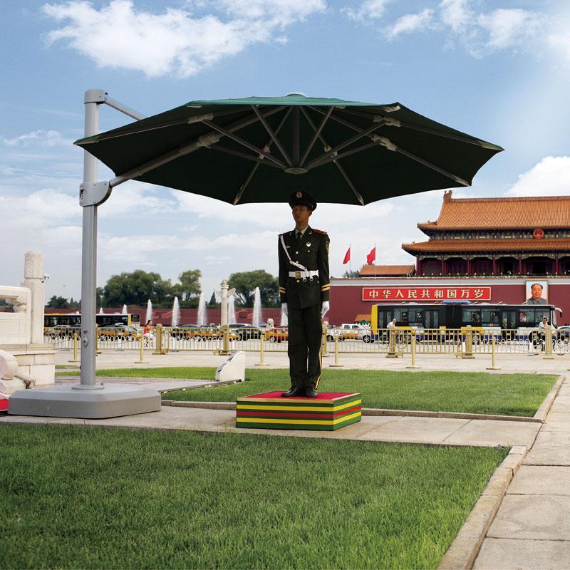 收米直播官网在线遮阳伞 罗马伞厂家 单边伞